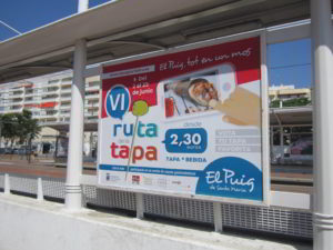 tipos de publicidad exterior Valencia