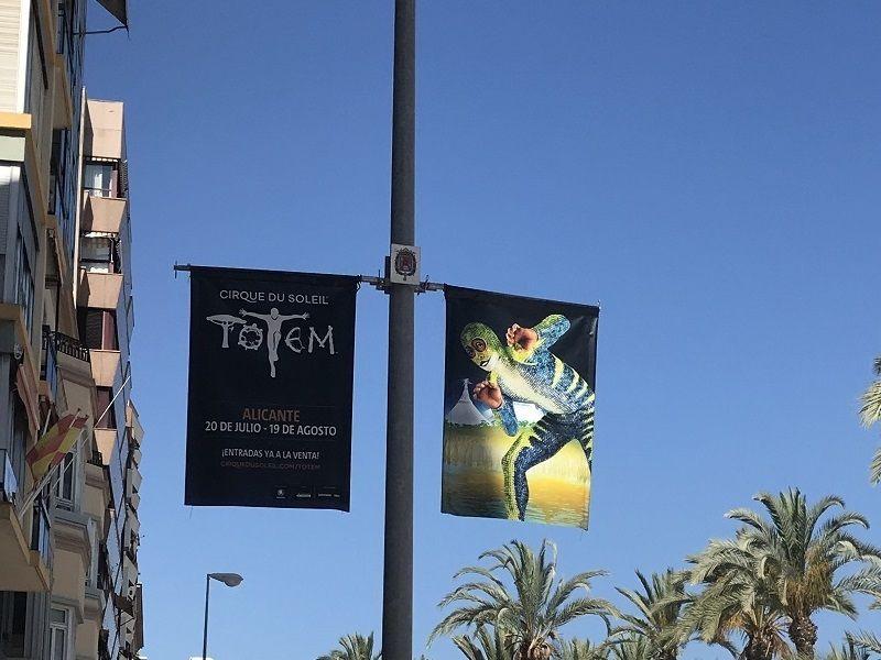 publicidad banderolas