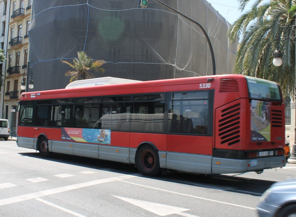 publicidad en autobuses, publicidad exterior
