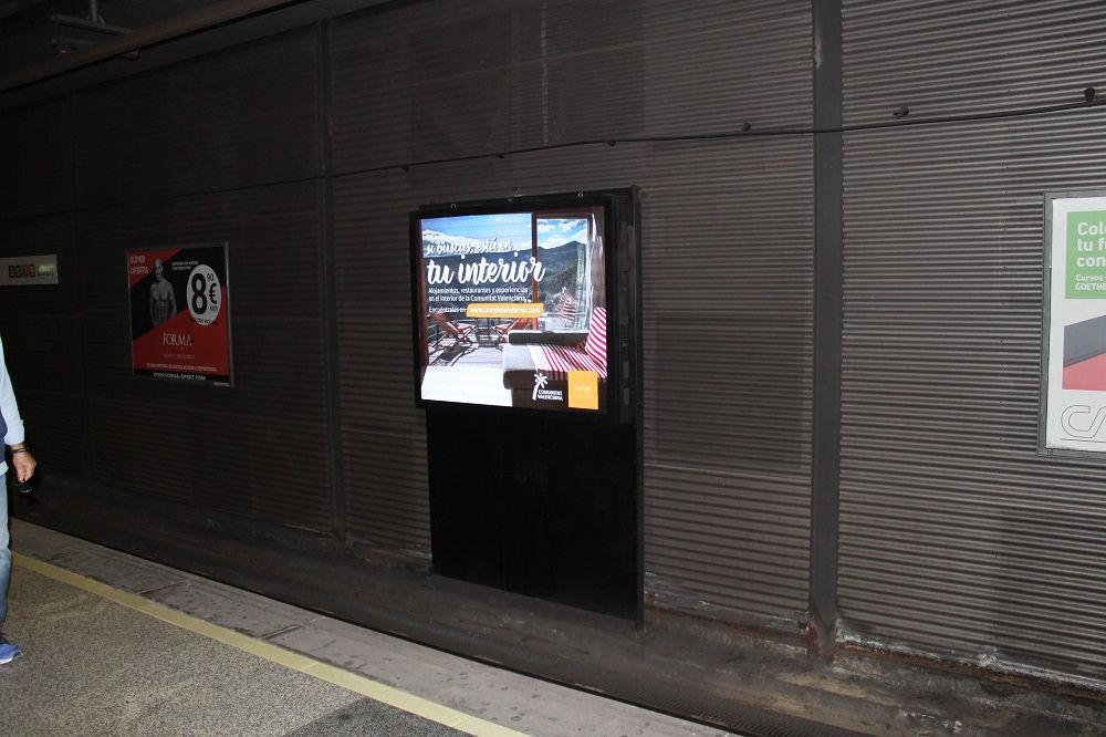 pantallas digitales, publicidad exterior digital