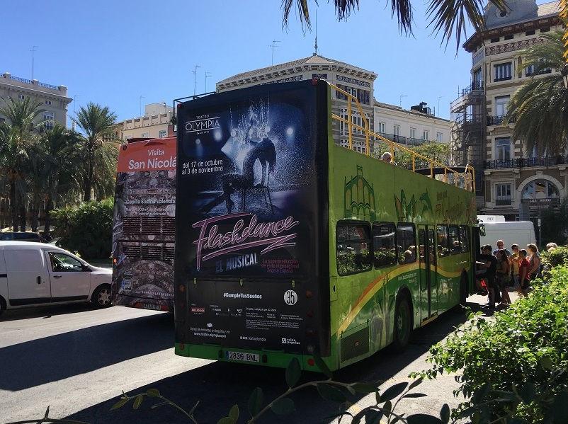 publicidad en autobuses, publicidad en bus turístico