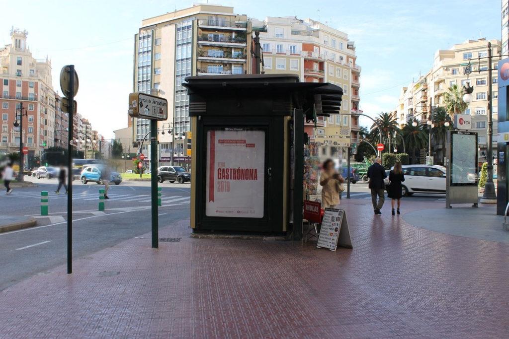 publicidad en kioscos