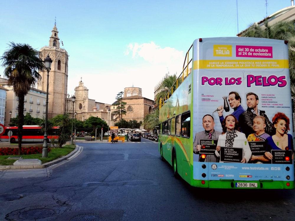 publicidad en autobuses, publicidad bus turístico
