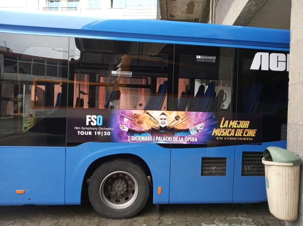publicidad en autobuses