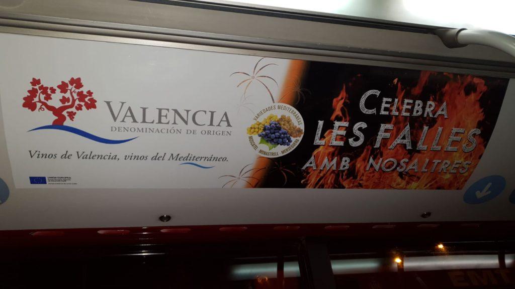 publicidad buses Valencia