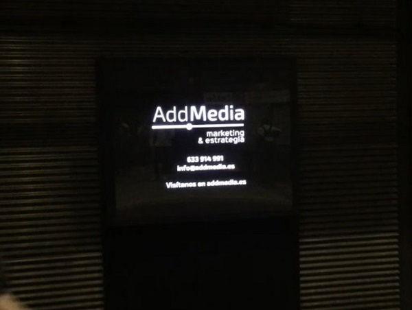 publicidad en el metro ADDMEDIA