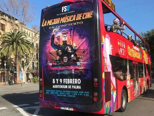 bus turístico Mallorca
