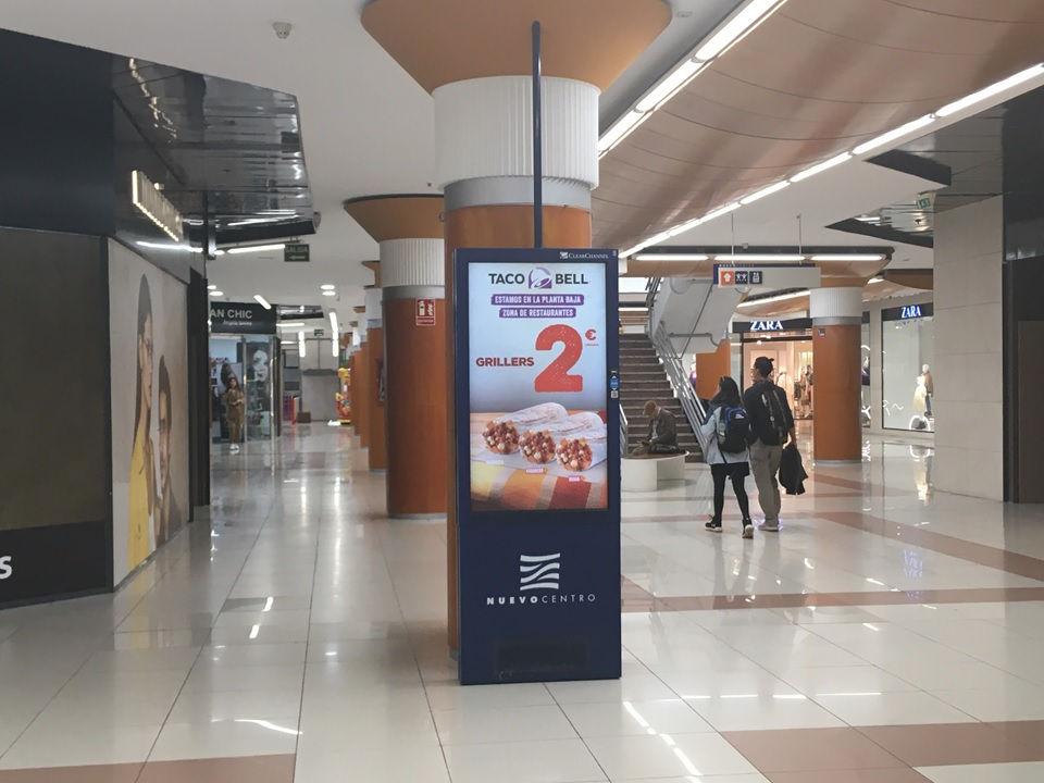 publicidad centros comerciales, agencia publicidad exterior