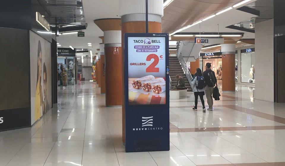 publicidad centros comerciales