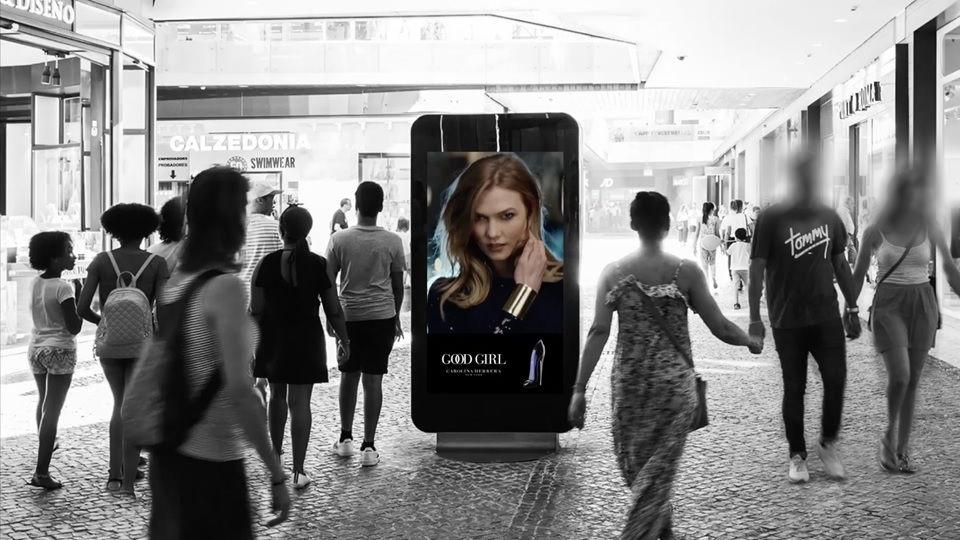 publicidad en centro comerciales