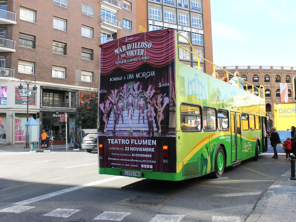 publicidad bus turístico