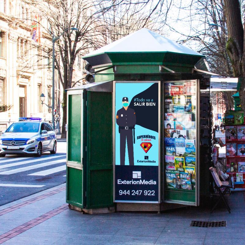 publicidad en kioscos covid-19