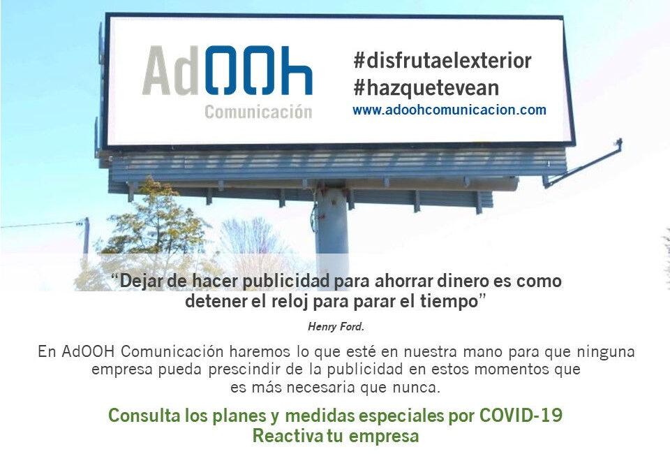 publicidad exterior covid-19