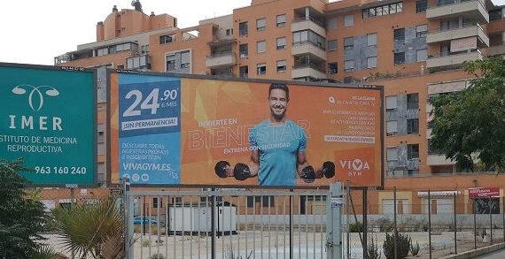 publicidad exterior gimnasios