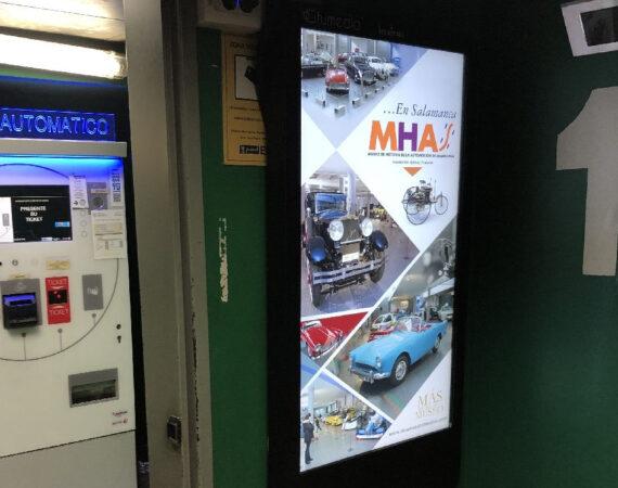 publicidad digital en parkings