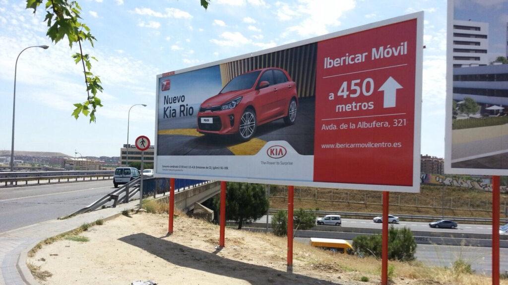 Publicidad exterior y el sector automoción