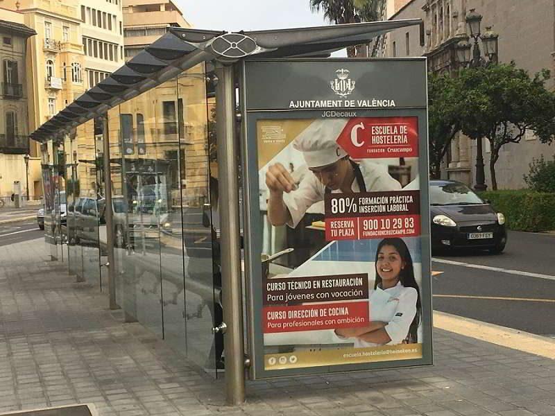 Publicidad mobiliario urbano